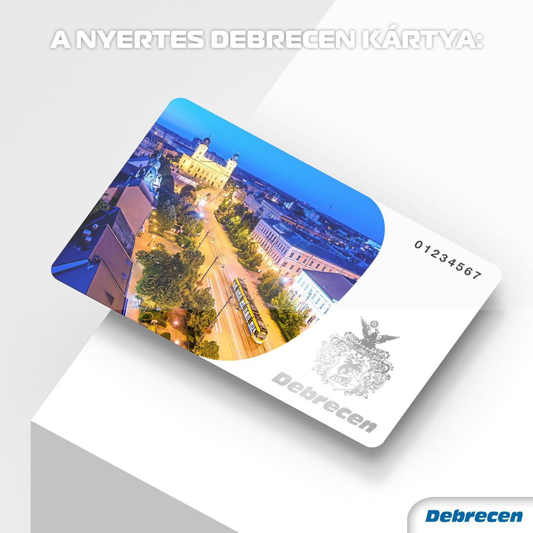 A nyertes Debrecen kártya